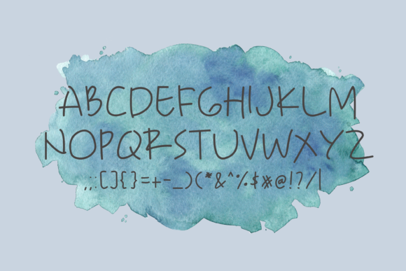Sweety Blue Font Download