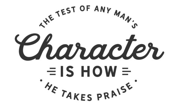 Print on Demand: The Test of Any Man's Character Graphic Illustrations By baraeiji