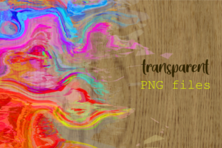 Print on Demand: Watercolor Brush Stroke Page Borders Graphic Backgrounds By Prawny 7