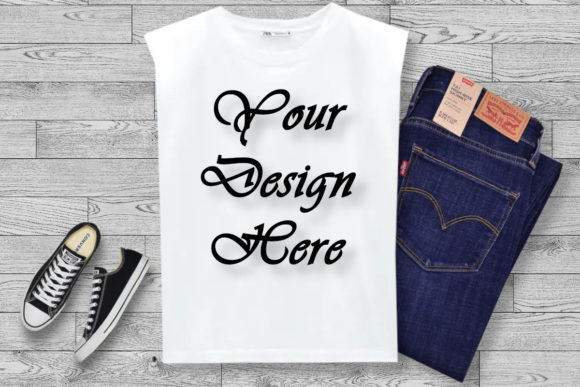 White Shirt, School Mockups Graphic Product Mockups By MockupsByGaby