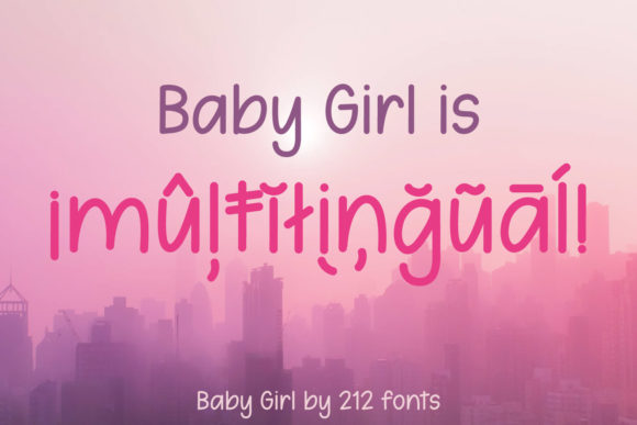 Print on Demand: Baby Girl Script & Handwritten Font By 212 Fonts - Image 12