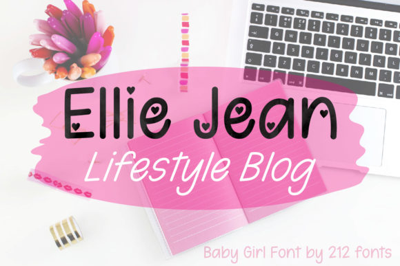 Print on Demand: Baby Girl Script & Handwritten Font By 212 Fonts - Image 5