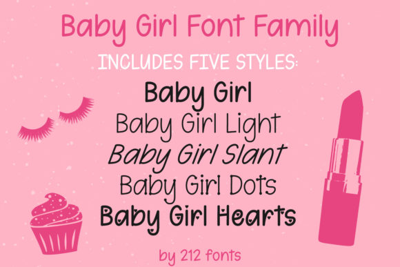 Print on Demand: Baby Girl Script & Handwritten Font By 212 Fonts - Image 6