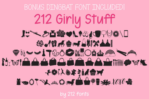 Print on Demand: Baby Girl Script & Handwritten Font By 212 Fonts - Image 8