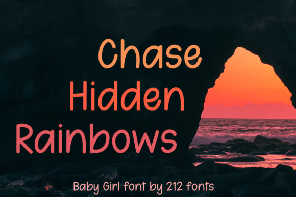 Print on Demand: Baby Girl Script & Handwritten Font By 212 Fonts - Image 9