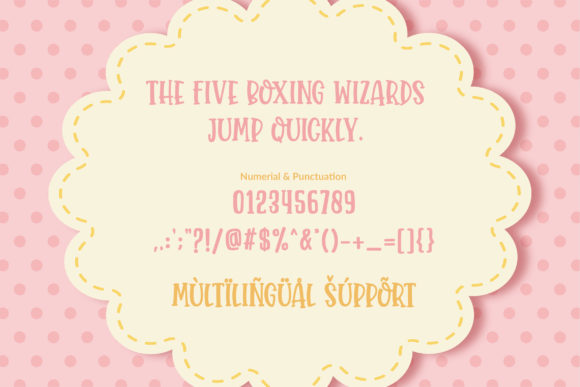 Baby Moon Font Download