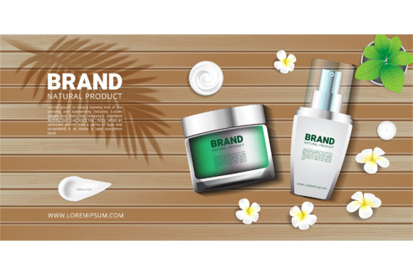 Banners for Cosmetics Spa Products Graphic Illustrations By nhongrand