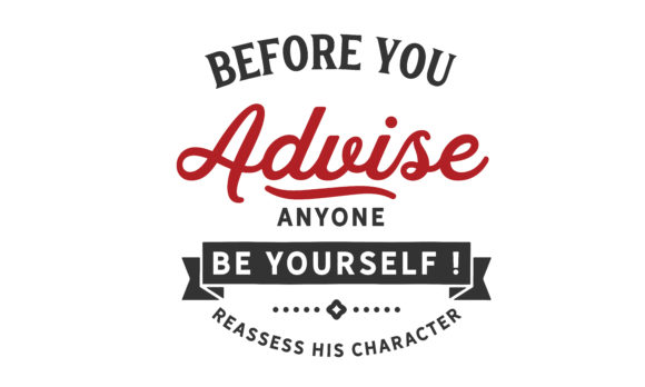 Print on Demand: Before You Advise Anyone Graphic Illustrations By baraeiji