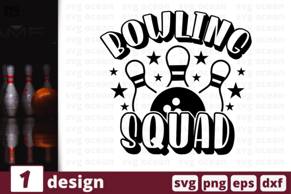 Bowling Squad Graphic By Svgocean Creative Fabrica