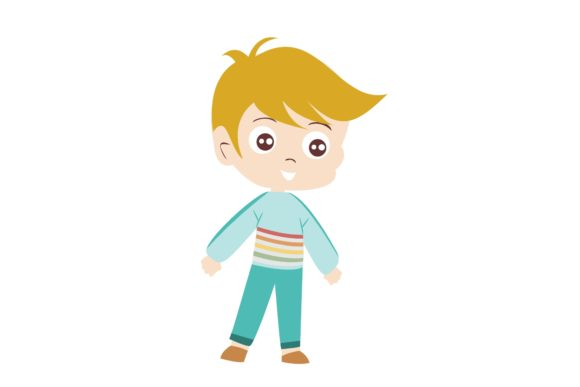 Boy Chibi Character Vector 32 Graphic Illustrations By harunikaart