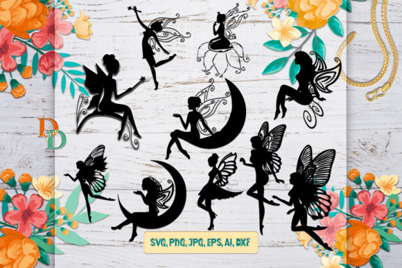 Fairies  Graphic Crafts By denysdigitalshop