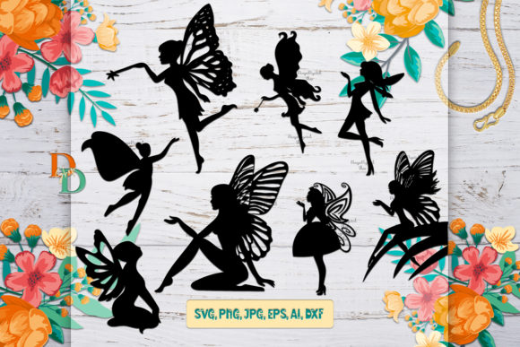 Fairy Digital Bundle Graphic Crafts By denysdigitalshop
