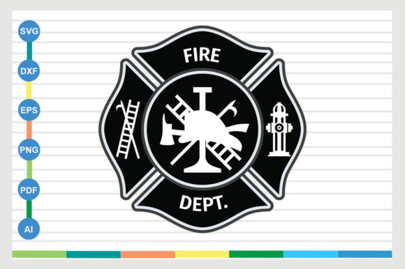 Fire Dept Graphic Crafts By sajidmajid441