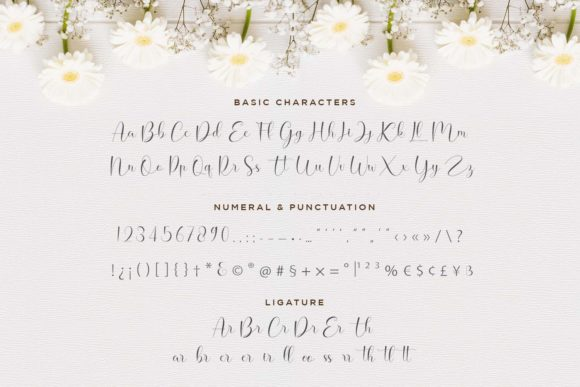 Print on Demand: Hello Daisy Script & Handwritten Font By Naharstd - Image 8