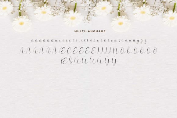 Print on Demand: Hello Daisy Script & Handwritten Font By Naharstd - Image 9