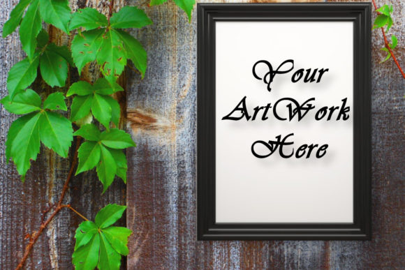 Mockup Photo Frame, Picture Frame Graphic Product Mockups By MockupsByGaby