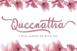 Print on Demand: Queenatha Script & Handwritten Font By yogaletter6