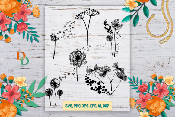 Dandelion Graphic Crafts By denysdigitalshop