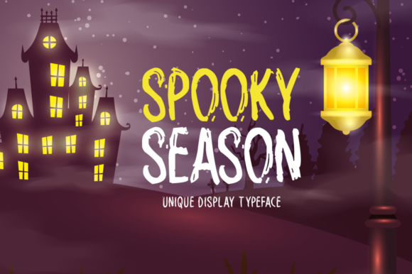 Print on Demand: Spooky Season Display Font By Imposing Fonts