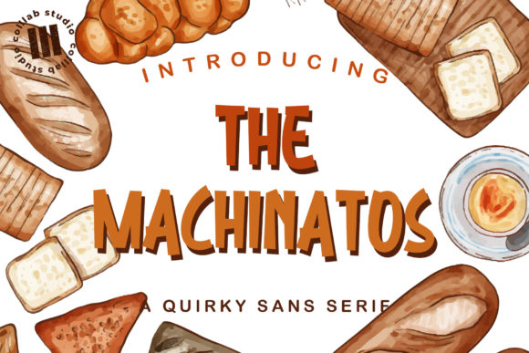Print on Demand: The Machinatos Sans Serif Font By colllabstudio