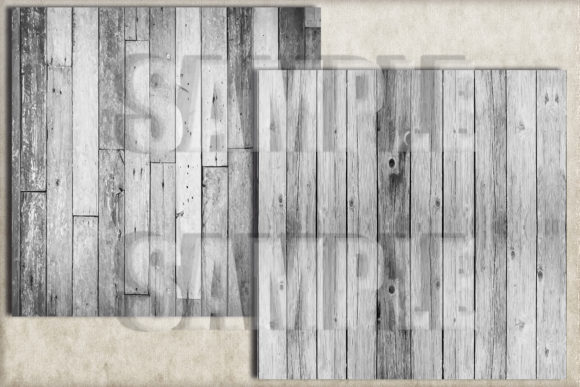 White Rustic Wood Digital Paper Graphic Backgrounds By paperart.bymc - Image 3