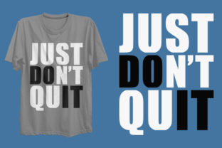 Print on Demand: Just Do It T-shirt Design Graphic Print Templates By Graphicflow
