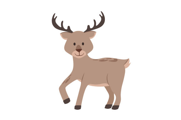 Deer Animals Craft Cut File By Creative Fabrica Crafts - Image 1
