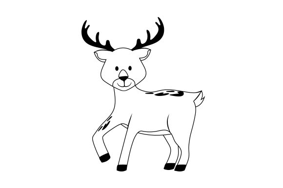 Deer Animals Craft Cut File By Creative Fabrica Crafts - Image 2