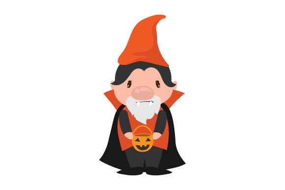 Vampire Gnome Halloween Craft Cut File By Creative Fabrica Crafts