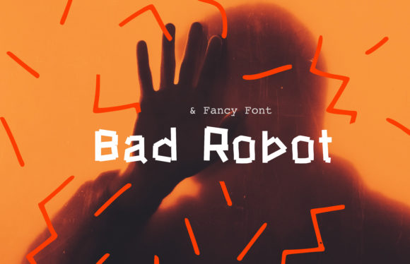 Print on Demand: Bad Robot Display Font By Nuchylee