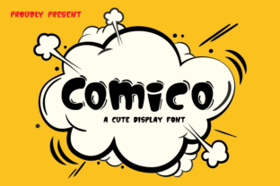 Print on Demand: Comico Display Font By Smart Studio