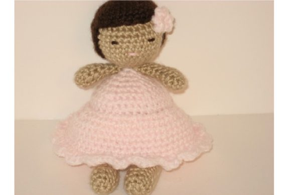 Crochet Little Girl Doll Pattern Graphic Crochet Patterns By Amy Gaines Amigurumi Patterns
