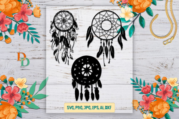 Dream Catcher Graphic Crafts By denysdigitalshop
