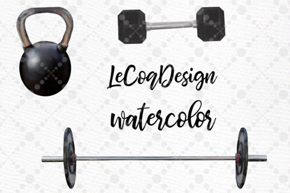Girls Workout Clipart Graphic Illustrations By LeCoqDesign - Image 6