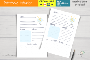 Print on Demand: Insert or KDP Interior for Ideas Journal Graphic KDP Interiors By artsbynaty
