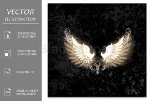 Light Wings Graphic Illustrations By Blackmoon9