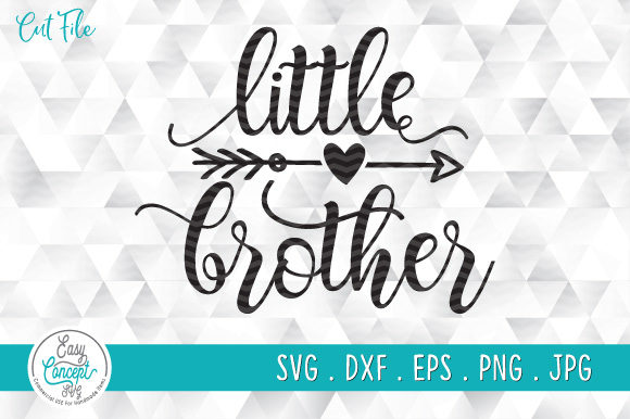 Little Brother Graphic Crafts By EasyConceptSvg