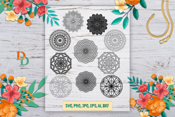 Mandala  Graphic Crafts By denysdigitalshop