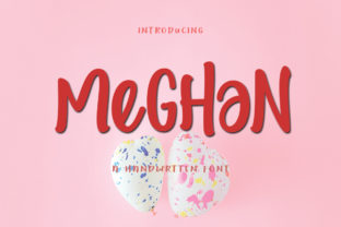 Print on Demand: Meghan Display Font By parawtype