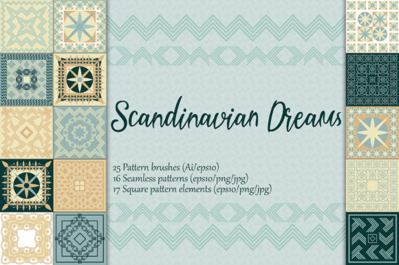 Scandinavian Dreams Graphic Patterns By AstraDesign