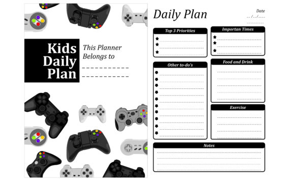 Print on Demand: Simple KDP with Gamepad Vector Theme Graphic Crafts By Arief Sapta Adjie