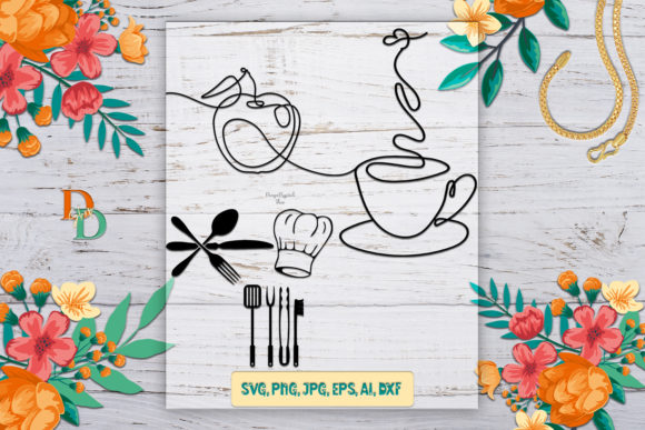 File for Cricut, Coffee, Cooking Graphic Crafts By denysdigitalshop