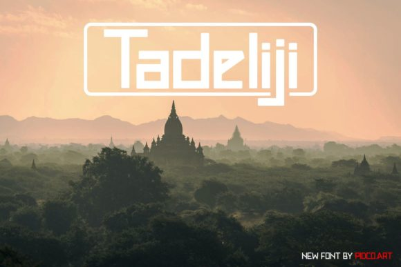 Print on Demand: Tadeliji Display Font By Pidco.art