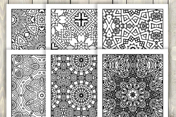 Print on Demand: 30 Cool Abstract Art Coloring Pages Graphic Coloring Pages & Books Adults By JM_Graphics - Image 2
