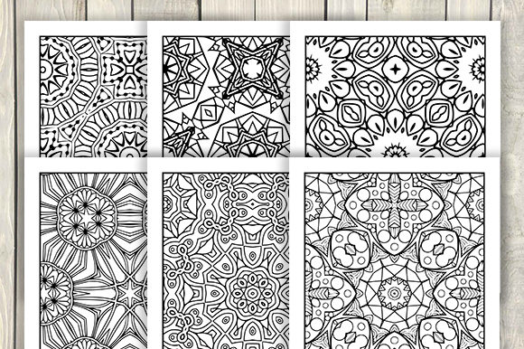 Print on Demand: 30 Cool Abstract Art Coloring Pages Graphic Coloring Pages & Books Adults By JM_Graphics - Image 3