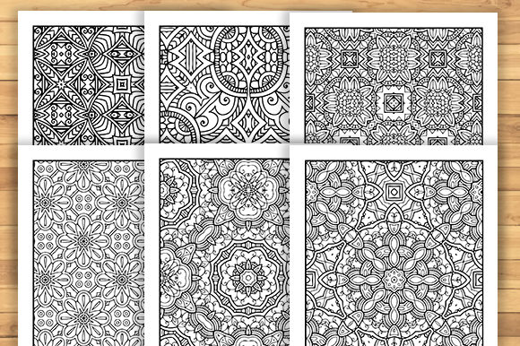 Print on Demand: 30 Fun Adult Pattern Coloring Pages Graphic Coloring Pages & Books Adults By JM_Graphics - Image 2