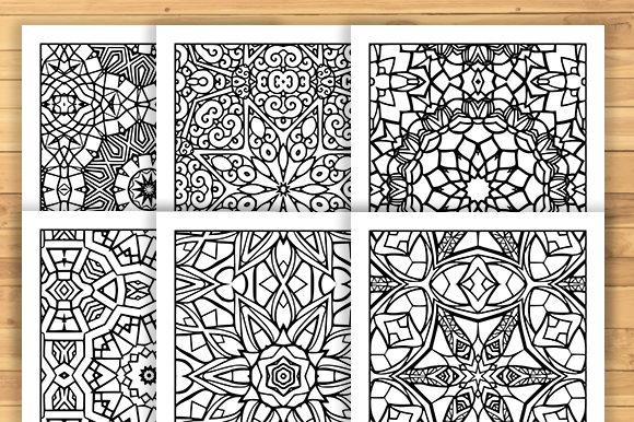 Print on Demand: 30 Fun Adult Pattern Coloring Pages Graphic Coloring Pages & Books Adults By JM_Graphics - Image 3
