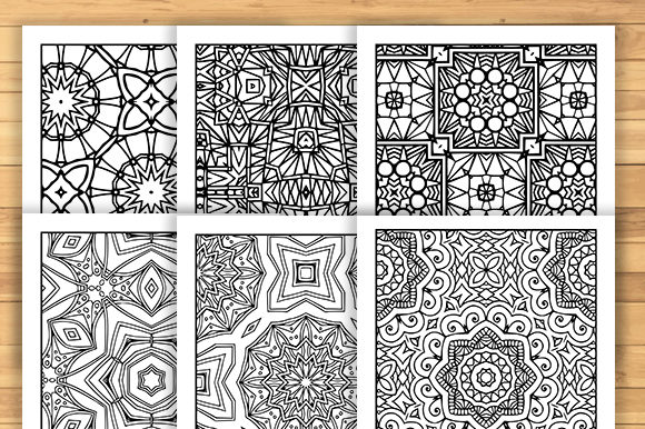 Print on Demand: 30 Fun Adult Pattern Coloring Pages Graphic Coloring Pages & Books Adults By JM_Graphics - Image 4