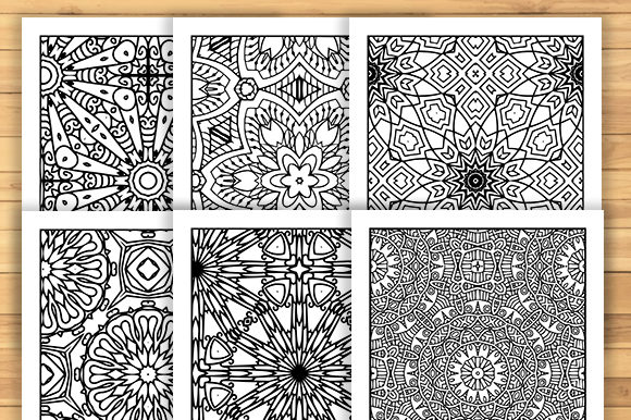 Print on Demand: 30 Fun Adult Pattern Coloring Pages Graphic Coloring Pages & Books Adults By JM_Graphics - Image 6