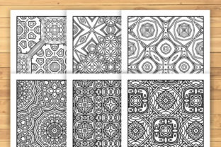 Print on Demand: 30 Lovely Geometric Coloring Pages Graphic Coloring Pages & Books Adults By JM_Graphics 3